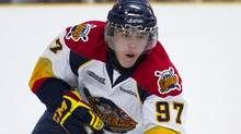 The first pick in the 2012 OHL draft, forward Connor McDavid, gets his first taste of regular-season major-junior hockey Thursday, when his Erie Otters are on the road to clash with the Niagara IceDogs. (Peter Power/The Globe and Mail)