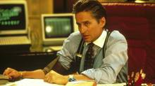 Michael Douglas plays Gordon Gekko in the 1987 movie Wall Street