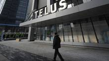 The Telus Tower in downtown Toronto. (Fred Lum/Fred Lum/The Globe and Mail)