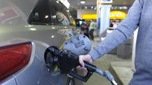 Canada's inflation is picking up, largely because of higher gasoline prices. (Fred Lum/The Globe and Mail)