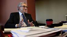 Howard Wetston, the chairman of the Ontario Securities Commission, photographed at the commission offices in Toronto. (Fernando Morales/Fernando Morales/The Globe and Mail)