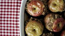 Baked stuffed apples (Martin Rochford for The Globe and Mail)