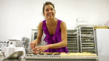 Adrienne D'Amico is co-owner of We Bake in Heels. (DAVE CHAN/Dave Chan for The Globe and Mail)