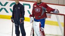 Carey Price and the Canadiens hope that new goalie coach Stéphane Waite can help the netminder rebound from a dismal playoffs. (RYAN REMIORZ/CP)