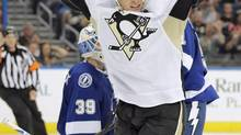 Sidney Crosby was the top Penguins producer against Toronto last season, with five points. (CHRIS O'MEARA/AP)
