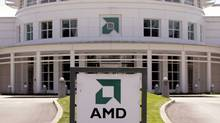 The Advanced Micro Devices headquarters is seen in Sunnyvale, Calif., Monday, July 17, 2006. (PAUL SAKUMA/AP)