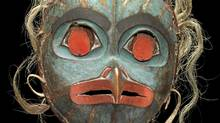 Tlingit Artist Owl Mask. Collection of Michael Audain and Yoshiko Karasawa (Vancouver Art Gallery handout/Vancouver Art Gallery handout)