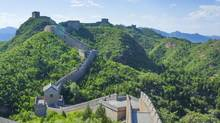 The Great Wall of China. (iStockphoto)