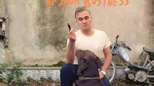 "This CD cover image released by Harvest shows ""World Peace Is None Of Your Business,"" by Morrissey. (THE ASSOCIATED PRESS)"