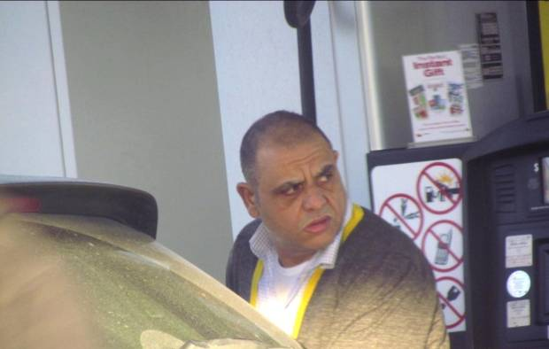 Antonio (Tony Large) Sergi is pictured in a police surveillance photo from Project OPHOENIX.