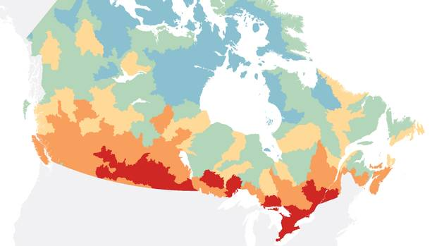 Charting Canadas troubled waters Where the danger lies for