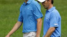 Matt Hill and Mike Weir