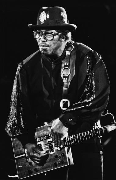 Bo Diddley: He walked 47 miles on barbed wire, used a cobra snake for a necktie, and made the dawn of rock 'n'roll sound positively menacing. Diddley was a classic tough guy, and his signature beat was definitely not meant for crooning. (Fred Lum/The Globe and Mail)