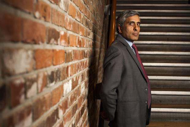 Mr. Gupta, shown here in January, 2016, had 'lost the masculinity contest among the leadership at UBC, as most women and minorities do at institutions dominated by white men,' Prof. Berdahl wrote.