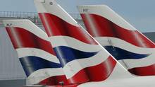 Margaret Thatcher sold off a nationalized British Airways. (TOBY MELVILLE/REUTERS)