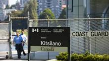 The Kitsilano Coast Guard station is seen here in Vancouver, British Columbia, Wednesday, July 11, 2012. (Rafal Gerszak For The Globe and Mail)
