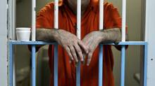 A Toronto inmate bides his time on Feb. 24, 2011. (Peter Power/Peter Power/The Globe and Mail)