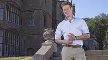 Matthew Hicks as Prince Harry in the Fox reality series I Wanna Marry 'Harry' (Fox Network)