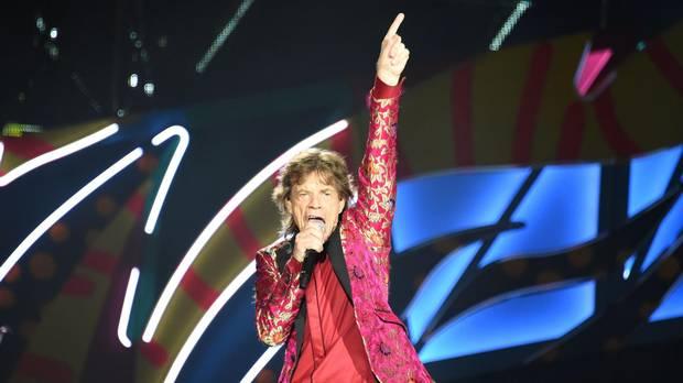 Mick Jagger performs in Rio de Janeiro, Brazil, on Feb. 20, 2016.