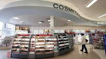 Shoppers Drug Mart is under pressure to hold on to its top position in cosmetics and fragrances. (Deborah Baic/The Globe and Mail)