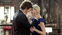 Jim Sturgess and Kirsten Dunst in Upside Down.