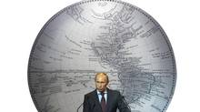 Vladimir Putin, just after being elected President again in 2012: Since then, he has made it clear he's no longer interested in co-operating with the West. (ALEXANDER DEMIANCHUK/REUTERS)