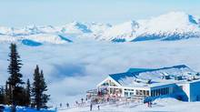 Ski resort destination, holiday in British Columbia, Canada. (Jupiterimages/Photos.com)