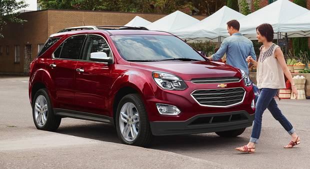 2017 Chevrolet Equinox.