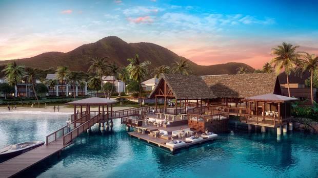 Park Hyatt St Kitts rendering.