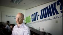 Finding fraud at 1-800-Got-Junk was arduous in the days of paper trails, Paul Speed says. 'You'd have to do a lot of running around. It would take hours to pull out the data.' (Rafal Gerszak/Rafal Gerszak)
