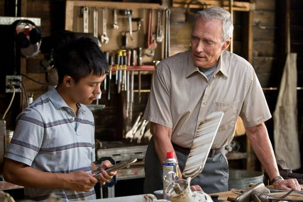Eastwood's 2008 effort Gran Torino, in which he plays a retired Korean War vet who strikes up an unlikely association with his Asian-American neighbours, earned a certain ironic cachet for its wall-to-wall ethnic slurs and the arch-grumpiness of its main character.
