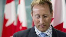 Peter MacKay, Federal Minister of Justice and Attorney General of Canada, attends a news conference in Toronto on Wednesday August 14, 2013. (Chris Young/The Canadian Press)