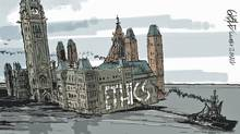 Editorial cartoon by Brian Gable (Brian Gable/The Globe and Mail)