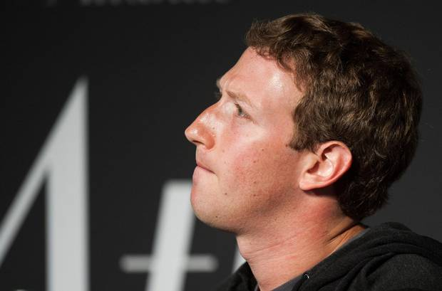 Facebook's Mark Zuckerberg speaks during an interview in Washington on Sept. 18, 2013.