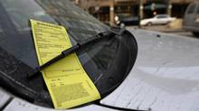 Toronto Police issued nearly 2.8 million parking tickets in 2009, the year before this photo was taken. (Fred Lum/The Globe and Mail)