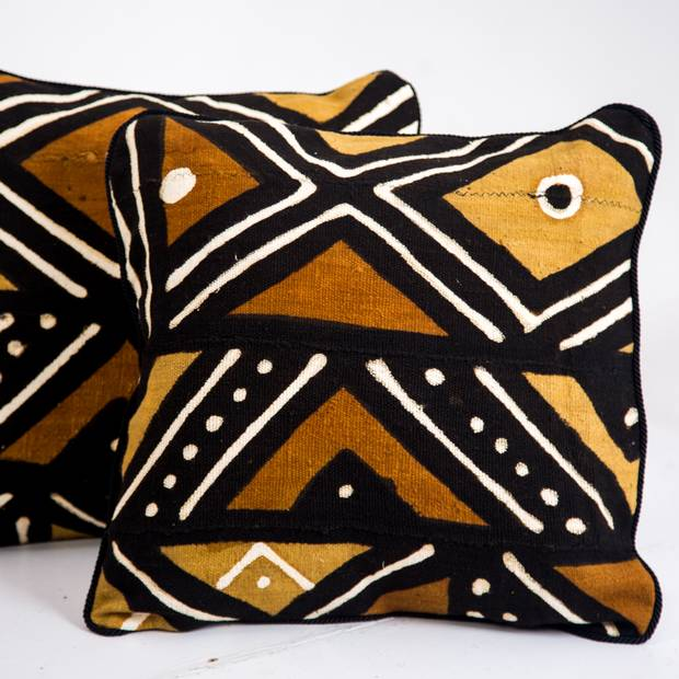 Bespoke Binny features traditional African textiles.