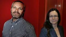 "Andre and Maria Jacquemetton are the producers of the hit series ""Mad Men."" (Fernando Morales/The Globe and Mail)"