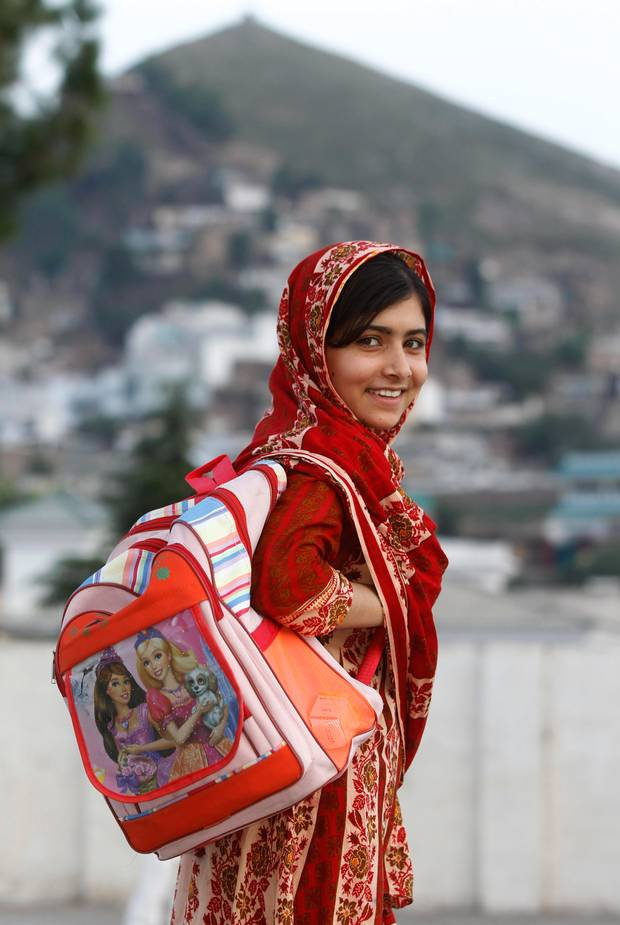 Pakistani school student and blogger Malala Yousafzai campaigned for women's right to education before being brutally shot in the head by a Taliban gunman while returning home from school on 9 October 2012. Remarkably she survived the ordeal and on 12 July 2013, Yousafzai's 16th birthday, she spoke at the United Nations (UN) to call for worldwide access to education. The UN dubbed the event