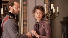 "Jude Law as Alexei and Keira Knightley as Anna in the latest big-screen adaptation of ""Anna Karenina."" (CP)"