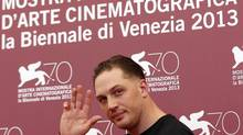 "Tom Hardy poses during a photo call for his movie""Locke, directed by Steven Knight, during the 70th Venice Film Festival in Venice, September 2, 2013. (Alessandro Bianchi/Reuters)"
