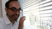 Russian-American author Gary Shteyngart is shown in New York on Sept. 6, 2010. (BRENDAN McDERMID/REUTERS)