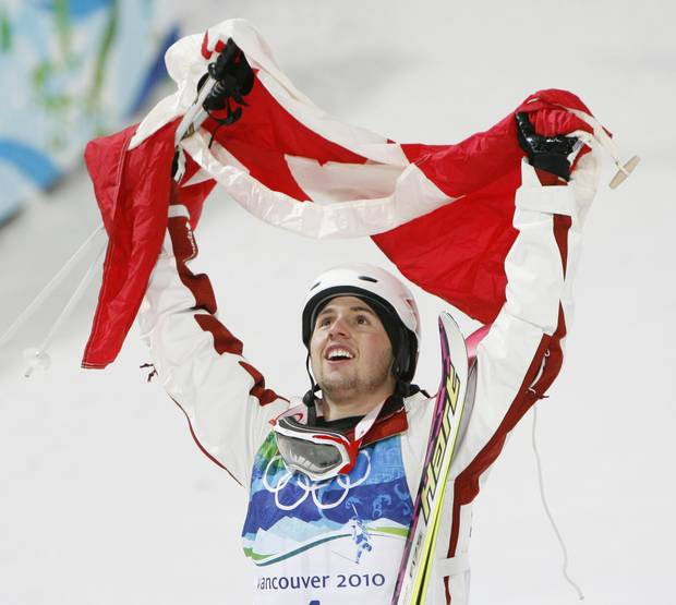 Mr. Bilodeau became the first Canadian to win an Olympic gold medal on home soil on Feb. 14, 2010.