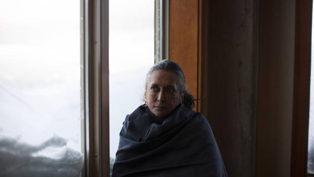 Film director and screenwriter Deepa Mehta is photographed during the Women on Top Breakfast in Whistler on Dec. 3, 2016.