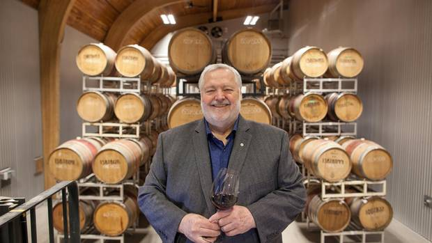 Harry McWatters, the president and CEO of Encore Vineyards, is a legend in British Columbia's wine industry.