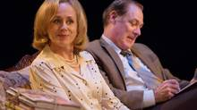 Soulpepper: The Norman Conquests Fiona Reid and Derek Boyes in Living Together. (photo by Cylla von Tiedemann)