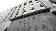 The Bank of Canada in Ottawa on Tuesday April 21, 2009. The Bank of Canada announced that the interest has been lowered to 0.25% today. THE CANADIAN PRESS/Sean Kilpatrick The Bank of Canada building in Ottawa. (Sean Kilpatrick/Sean Kilpatrick/The Canadian Press)