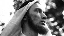 Pierre Elliott Trudeau in 1949, when visited the Middle East (CP)