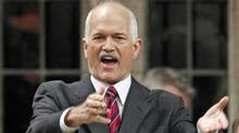 NDP Leader Jack Layton during Question Period on Wednesday, June 9. (Chris Wattie/Reuters)