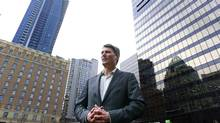 Vancouver Mayor Gregor Robertson stands near the Vancouver Art Gallery in December, 2012. COPE, the city's left-wing party, voted to run a mayoral candidate next year against Vision Vancouver's Mr. Robertson. (Jeff Vinnick for The Globe and Mail)