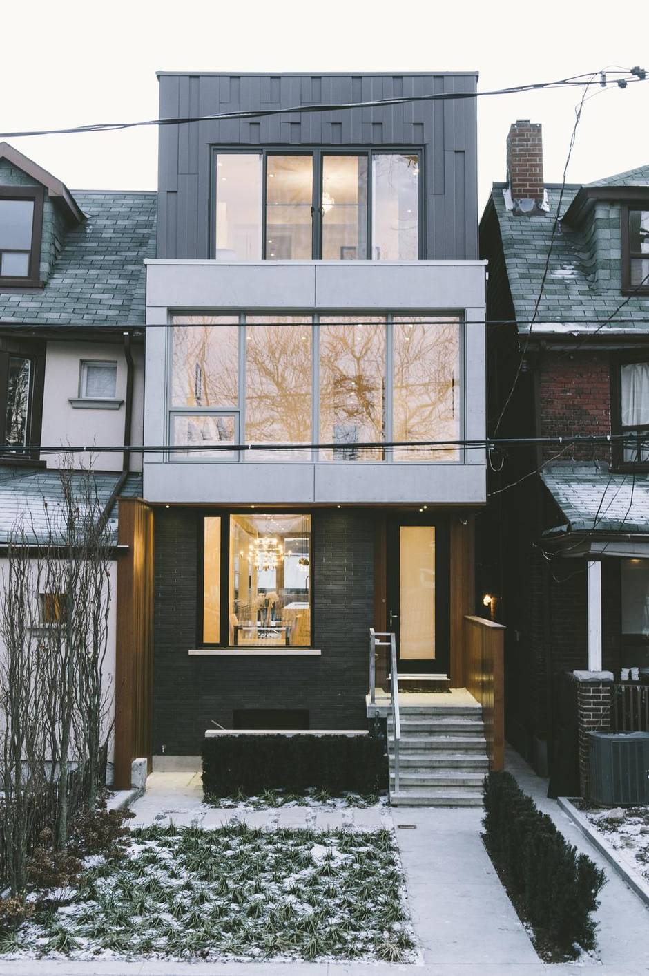 Here S A New Take On The Typical Toronto House The Globe